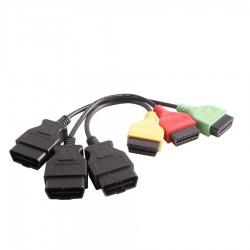 Fiat ECU Scan Adaptors Fiat Connect Cable (3pieces/ set)